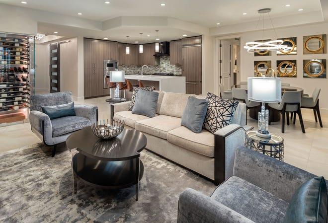 Scottsdale Waterfront Residences Condo, Scottsdale Modern Furniture