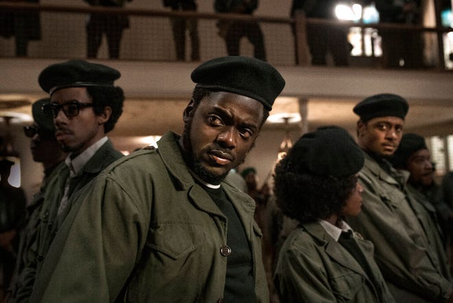 """Daniel Kaluuya stars in """"Judas and the Black Messiah."""" The film opens Friday at Queensgate Movies 13 and Hanover Movies 16."""
