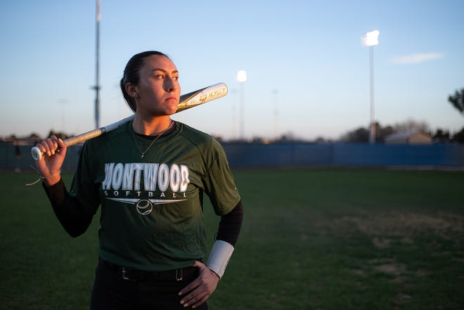 Montwood High School softball infielder Lauren Garcia is one of the state's most talented power hitters and has earned a Division I scholarship to the University of New Mexico. Feb. 9, 2021