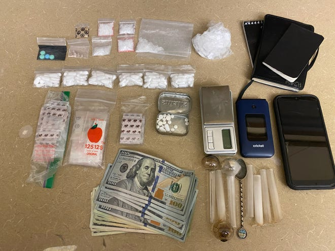 Evidence collected by Visalia Police Department on Wednesday, February 10, 2021.