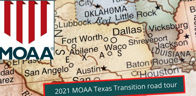 Military Officers Association of America, its Alamo Chapter and the Wichita Falls Chamber of Commerce will host a military transition webinar Feb. 17.
