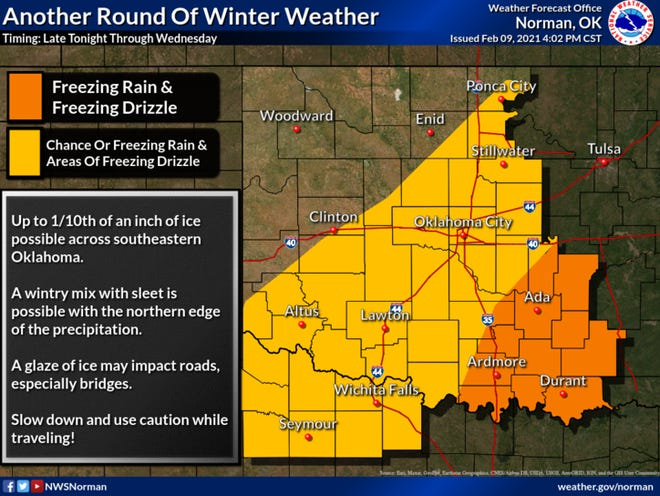 Another round of winter weather.