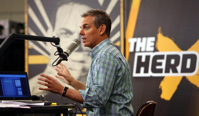 "Colin Cowherd has not been on ""The Herd"" this week after experiencing a medical emergency that sent him to the hospital."