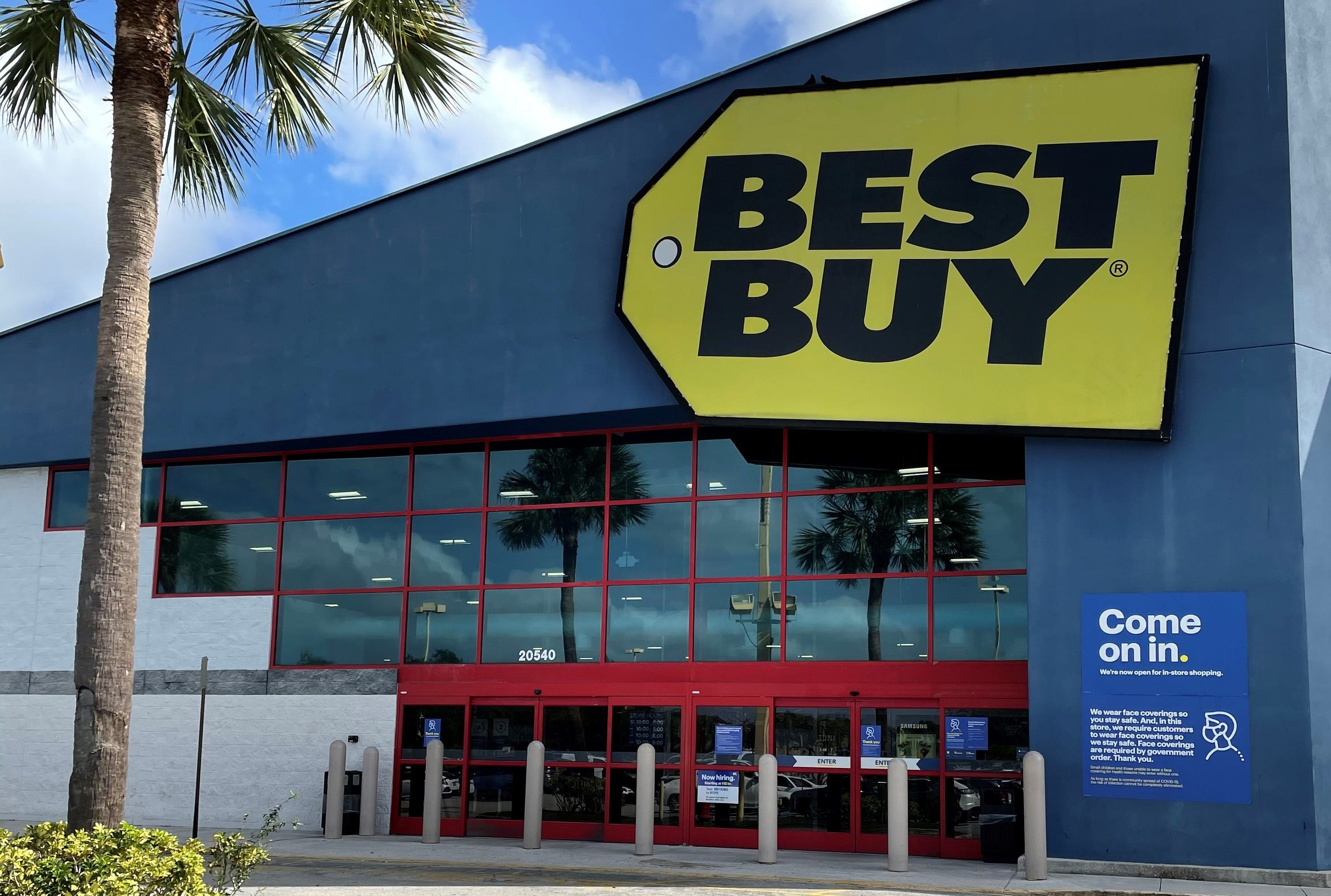 Best Buy cutting an undisclosed number of store workers as shopping behavior changes amid COVID