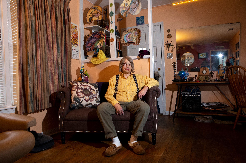 Al Evans at home