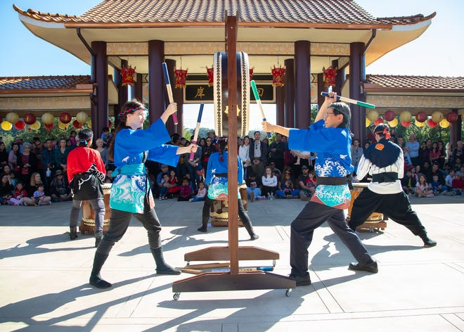 Last year, before the coronavirus pandemic put an end to live shows, Taiko Drum performers kick off the 2020 Lunar New Year celebration on Jan 27 at the FGS Xiang Yun Temple in Northwest Austin.