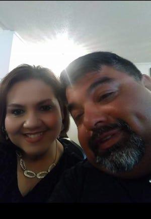 Joe Luis and Hilda Ayala - six years of marriage and going.