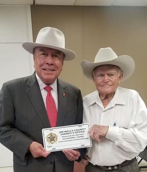 """The Texas Senate adopted Senate Resolution No. 58 by Senator Juan """"Chuy"""" Hinojosa in memory of William Aubrey Harper, Jr., who passed away on November 11, 2020 at the age of 81. Sergeant Aubrey Harper worked for the Jim Wells County Sheriff's office for 25 years before his passing."""