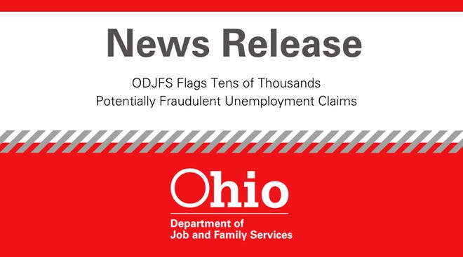 Unemployment claims surged in Ohio last week, and the state believes that fraud is behind at least some of it.
