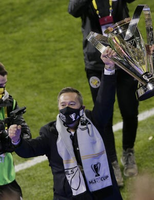 After winning MLS Cup last season in his second year with the Crew, coach Caleb Porter is looking for more trophies from his team, which only added talent in the offseason.