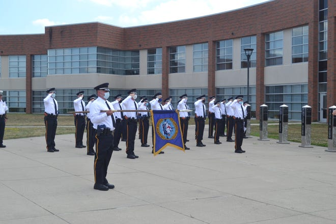 Thirty-nine Columbus police academy recruits graduated Friday to begin working within the Columbus Division of Police. An additional seven graduates will work at other law enforcement agencies around central Ohio.