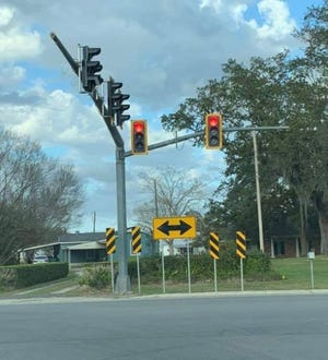 A traffic study conducted in December determined that a traffic signal was needed at the intersection of La. 308 and La. 648 in Thibodaux.