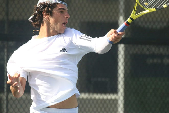 Spruce Creek No. 1 singles player Sami Ozzor signed with Stetson in November.