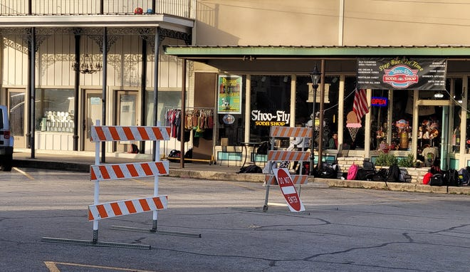 Walnut Street in the Downtown Square is closed of each Friday from 3:15-5:15 p.m. as kids gather events sponsored by the Somervell County Safety Coalition and its community partners.