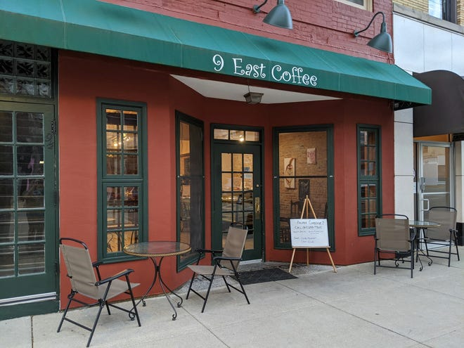 9 East Coffee, Nine E. Stephenson St., Freeport, will offer live jazz music for Valentine's Day from 7 a.m. to 3 p.m. Sunday.