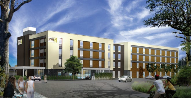 The new Home2 Suites by Hilton at 725 Union St. in Franklin is set to open in March 2022.