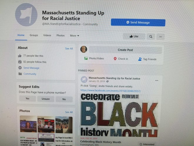 Massachusetts Standing Up For Racial Justice is hosting a come-and-go exhibition style online event celebrating Black History Month on Saturday.