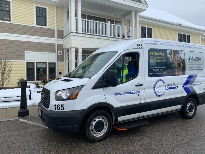 The MWRTA received a $400,000 grant to expand its CATCH Connect service in Framingham