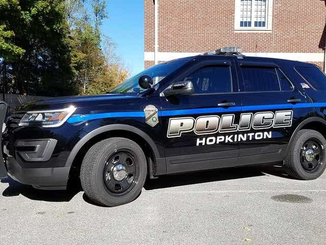 Hopkinton police have charged an Ashland man with driving under the influence of alcohol (fourth offense) after an incident Wednesday on Main Street.