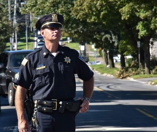 """Whitesboro Police Chief Jason Buley, described as """"born a street cop,"""" died on Feb. 2, 2021. He was 46."""