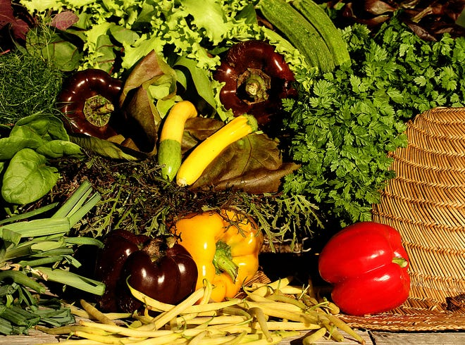 Produce from Swank Farms.