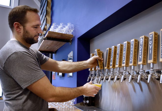 LineSider Brewing owner/brewer Jeremy Ruff was recently selected  president of the R.I. Brewers Guild.