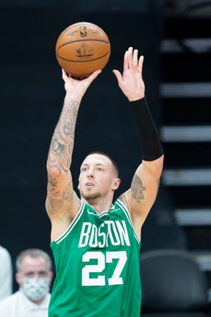 Boston's Daniel Theis is shooting at a 60.4% clip this season, and nearly 50% from 3-point land.