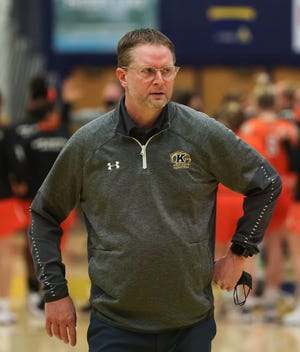Kent State head coach Todd Starkey is searching for ways to help his team through a rough stretch during the month of February.