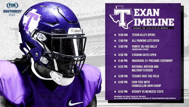 After going more than a full calendar year between games, the Tarleton Texans are set to take the field Saturday against McNeese State in their first-ever game as a D1 program.