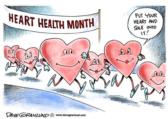 Granlund cartoon: Heart health month