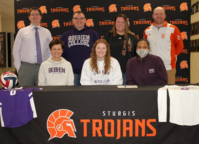 Kristin Watson will continue her academic and volleyball careers with Goshen College.