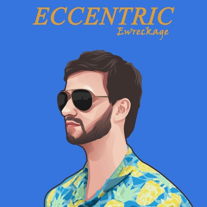 The cover for Ewreckage's Eccentric album