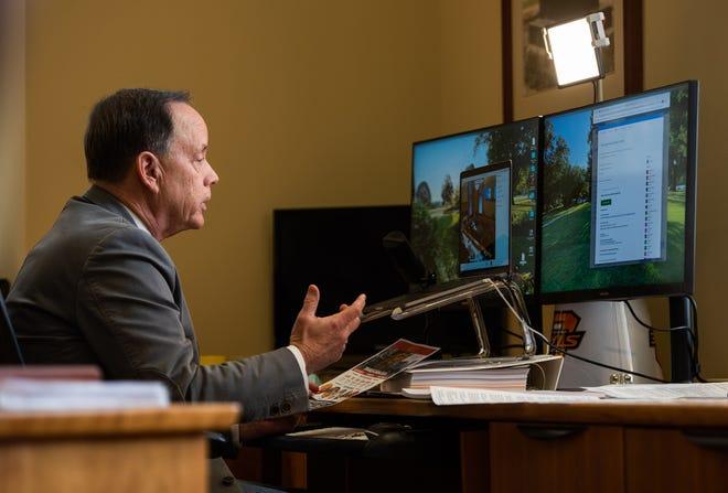 Pittsburg State University President Steve Scott this week urged state legislators to prioritize higher education funding.