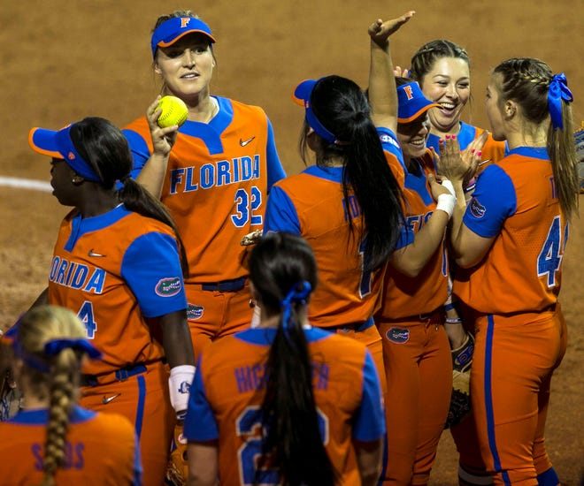 Florida's softball team starts its season this weekend in Tampa.