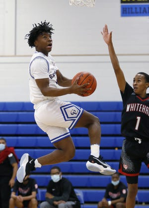 Gahanna Lincoln junior guard Sean Jones surpassed the 1,000-point mark for his prep career during an 80-51 victory Feb. 10 at Linden-McKinley.