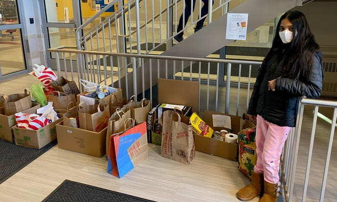 Thank you to Aishwaryalakshmi Saravanan, an eighth-grader from Kennedy Middle School for hosting a food drive to benefit the food pantry at the Natick Service Council.