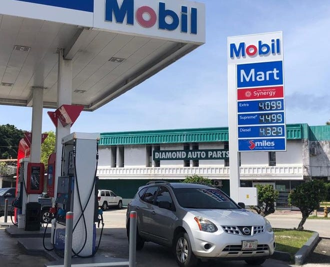 The price for gas increased by 12 cents a gallon to $4.10 on Thursday.