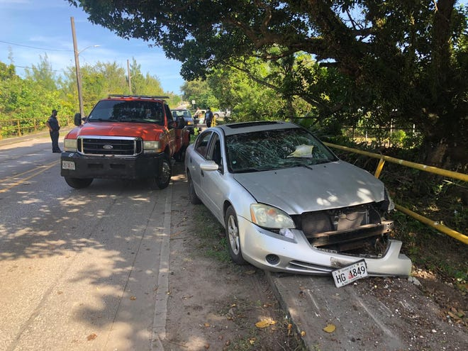 An accident in Dededo sent six people to Guam Regional Medical City and the Guam Memorial Hospital on Thursday, Feb. 11, 2021.