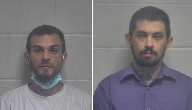 Addam Turner, 35, and John Subleski, 32, both believed to be affiliated with the United Pharaoh's Guard who define themselves as Boogaloo Bois, were arrested Feb. 11.