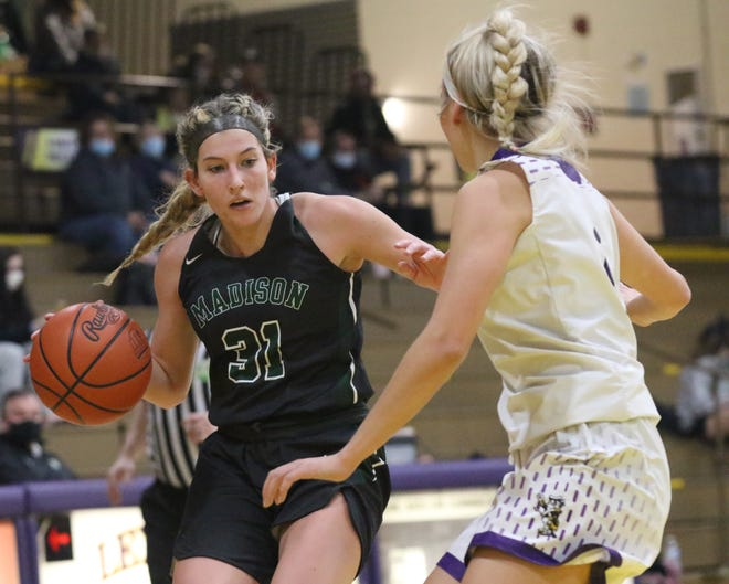 Madison's Chesney Davis earned first team All-District 6 honors in Division I.