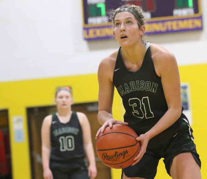 Madison's Chesney Davis was named All-Ohio in Division I for the 2020-21 season.