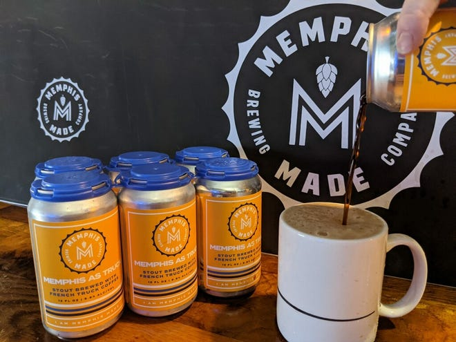 Memphis Made Brewing Co. Memphis as Truck coffee stout was created in collaboration with French Truck Coffee.