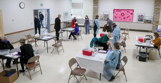 Wauwatosa City Hall serves as a walk-in COVID vaccine clinic from 9 a.m. to 3 p.m. Monday through Friday.