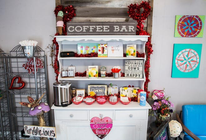 Jeff and Kerri Purdy opened the Purdylicious Sweet Shoppe, which serves coffee, donuts, lemonade and other items, in January of 2021.