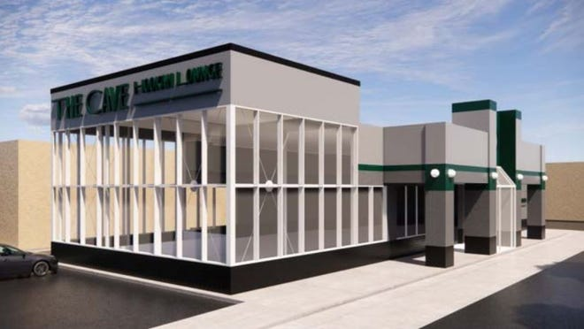 A rendering of what the proposed hookah lounge in Westland could look like. It would be located in the building that formerly held a Burger King.