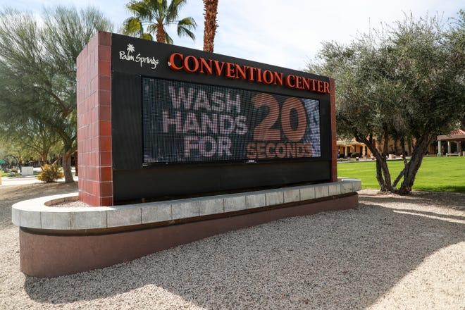 The Oasis Exhibit Hall at Palm Springs Convention Center is set to host a COVID-19 vaccination clinic beginning Friday, February 12, 2021.