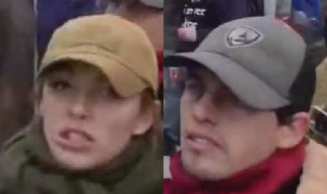 Federal prosecutors say Felicia and Cory Konold were part of a group that stormed past police and into the U.S. Capitol on Jan. 6.