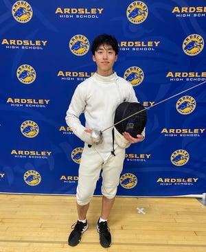 Ardsley fencer Patrick Sheng is the ConEd Athlete of the Week.