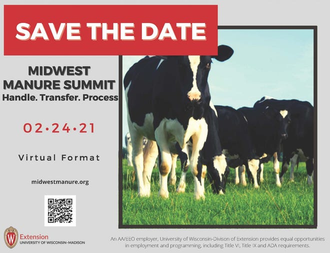 Midwest Manure Summit is completely virtual this year.