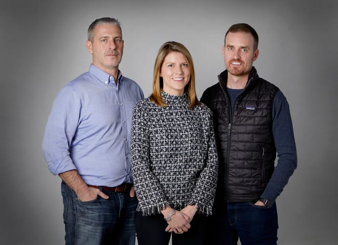 Ron Welch, Evonne Saunders and Jake Neeley are working together to establish Muskingum County's first child advocacy center with the help of the Malouf Foundation.